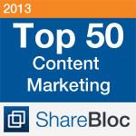 ShareBlocTop50ContentMarketing2013Badge